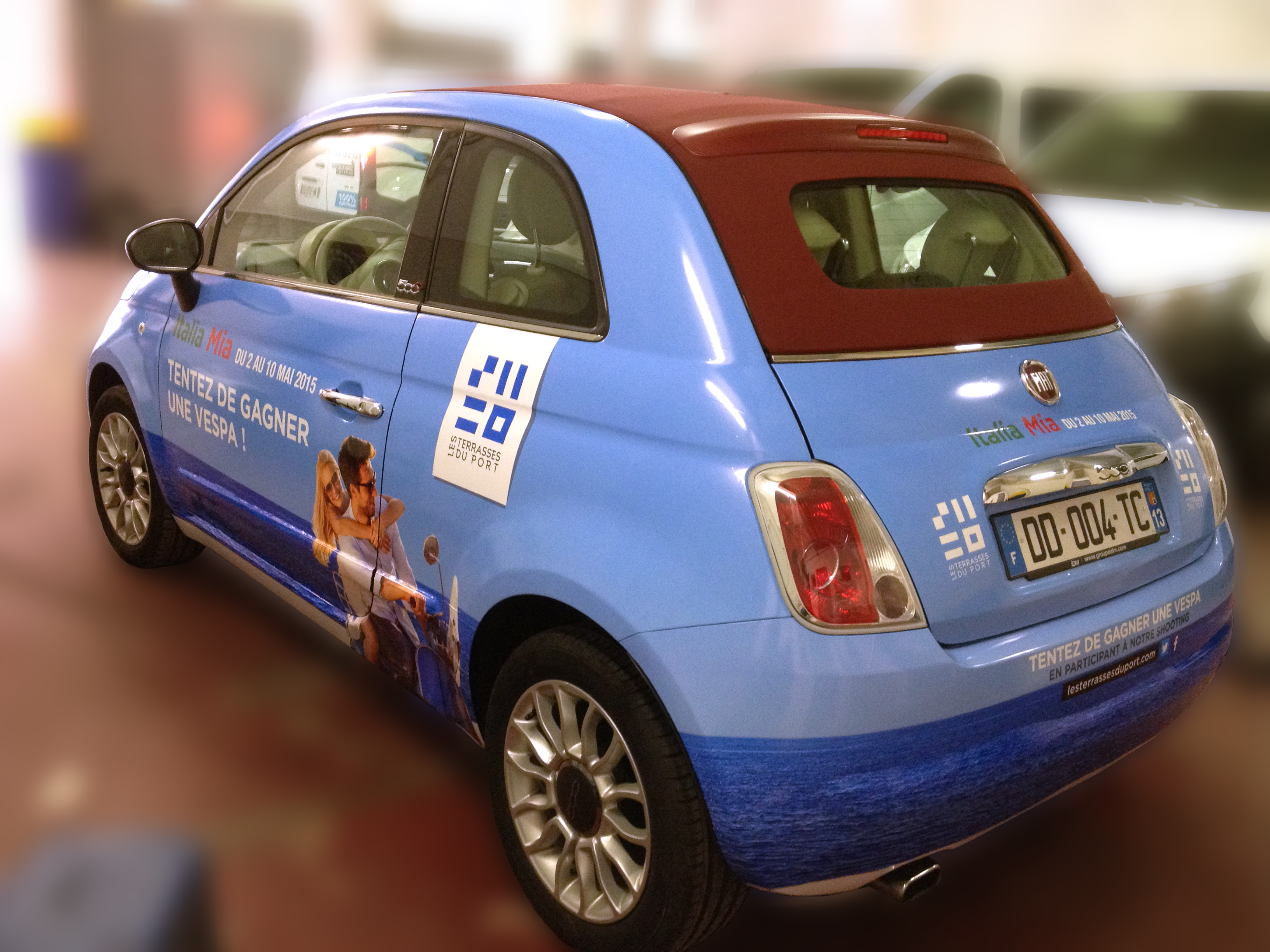Full Covering Fiat 500